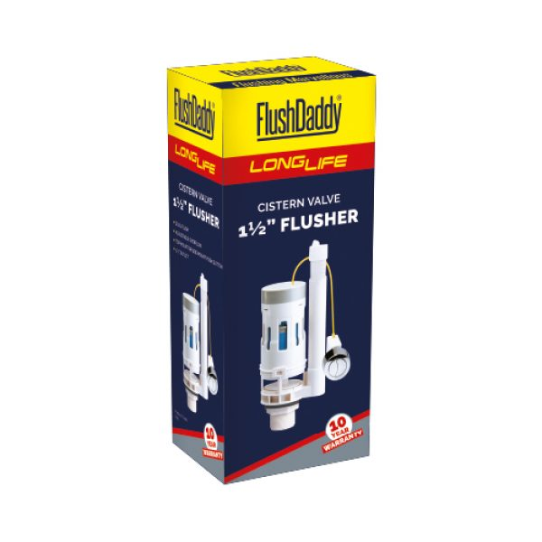 FlushDaddy LongLife Dual Flush Drop Valve Box